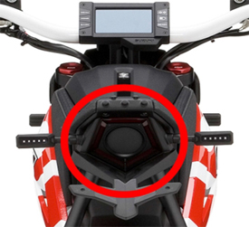 Suzuki EXTRIGGER light-emitting device