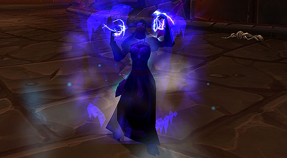 draenei mage evocating