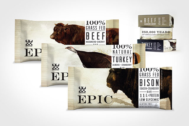 protein-filled EPIC bars