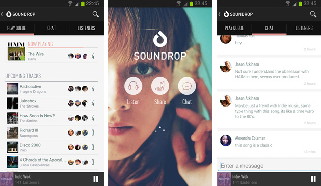 Soundrop's social music listening comes to Android