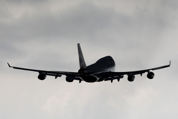 File photo dated 12/04/12 of a plane taking of as a short-list of options for extra runways at UK airports is set to be included in the first report of the Government-appointed Airports Commission this week.