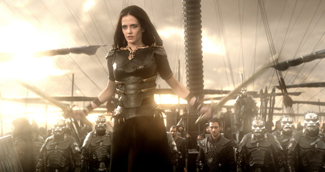 Eva Green in '300: Rise of an Empire'