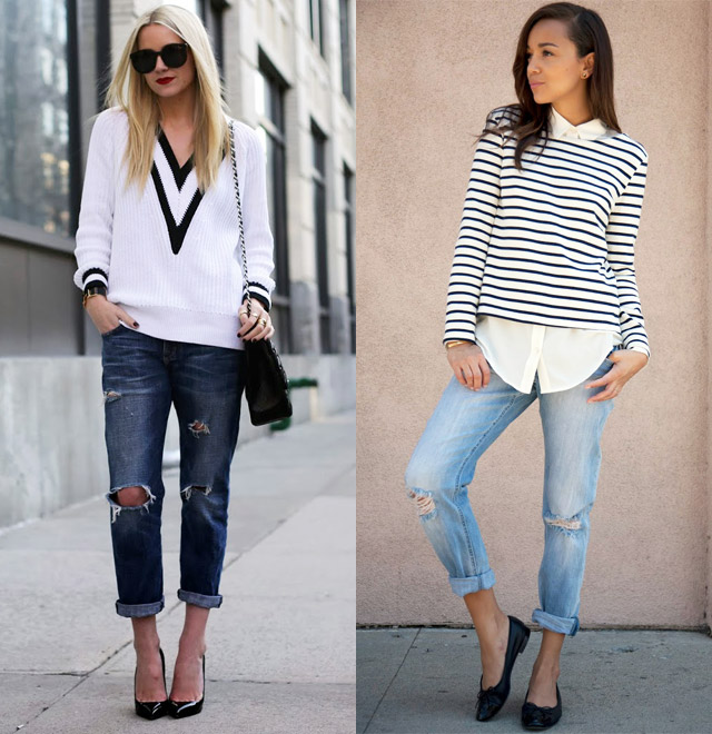 How to wear boyfriend jeans this season