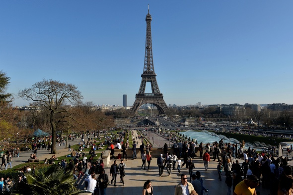 Paris named the number one tourist destination in the for Number one travel destination