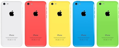 iPhone 5c lineup