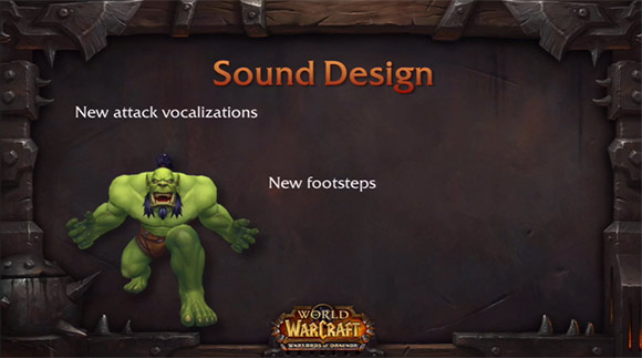 New Sounds in Warlords of Draenor