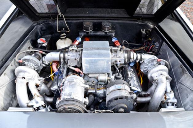 DeLorean Twin-Turbo