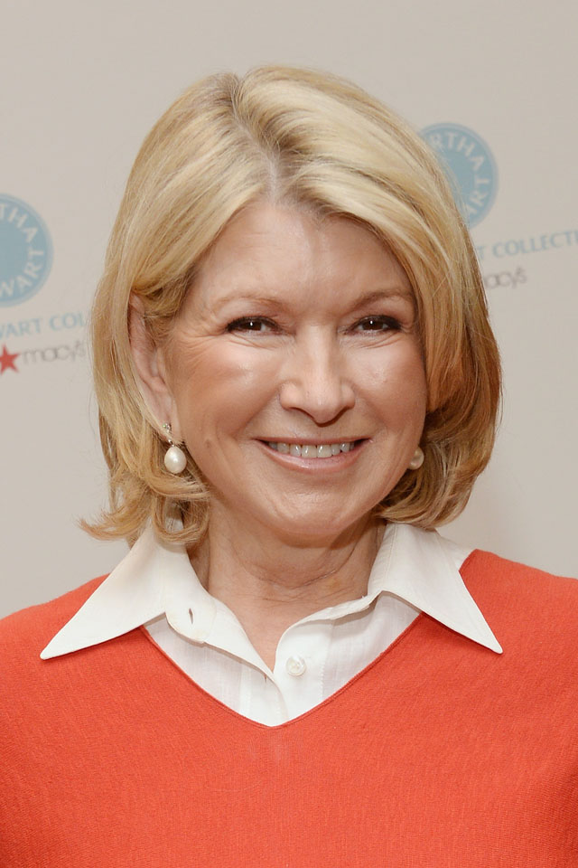 PASADENA, CA - DECEMBER 17: Martha Stewart attends a holiday book signing for her new book
