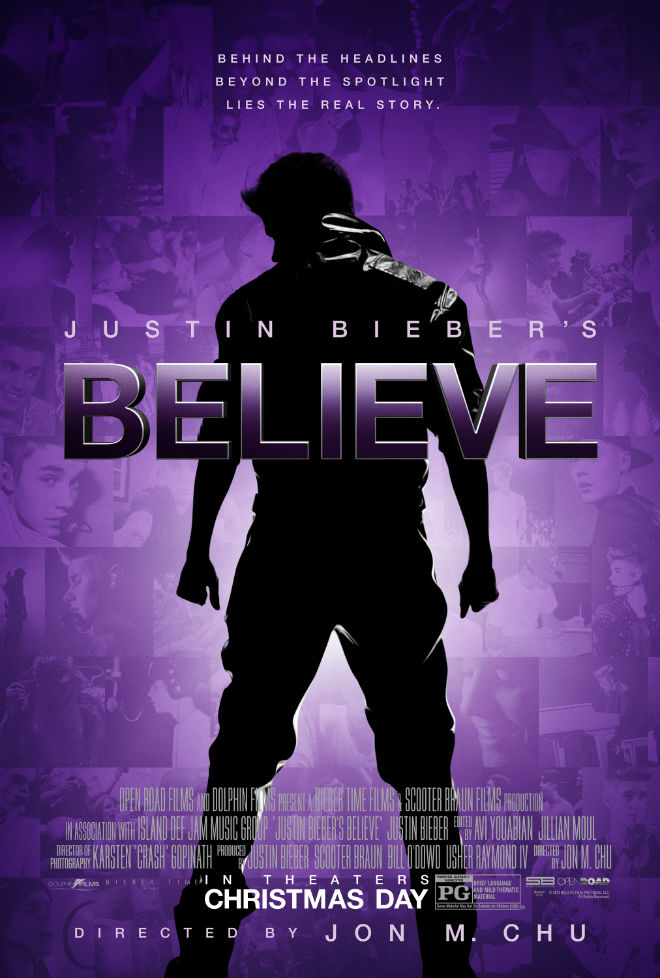 The New Poster for Justin Biebers BELIEVE Is Here UPDATE