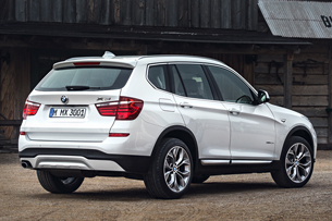 2015 Bmw X3 Arrives With Tweaked Styling Diesel Option Update