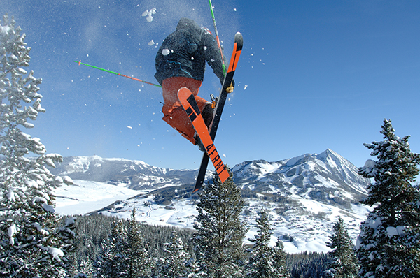 Colorado skier Crested Butte