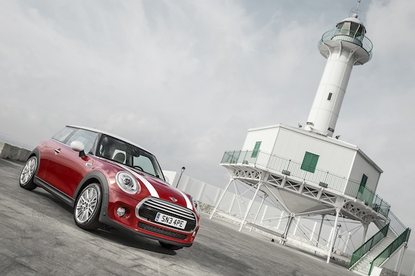 New BMW Mini Cooper