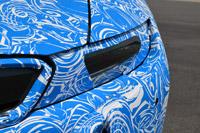 2014 BMW i8 Prototype headlight