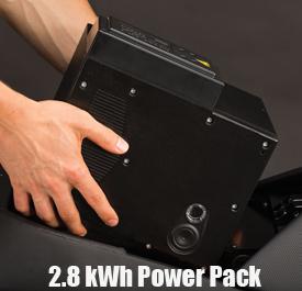 Zero Motorcycles Power Pack range extender