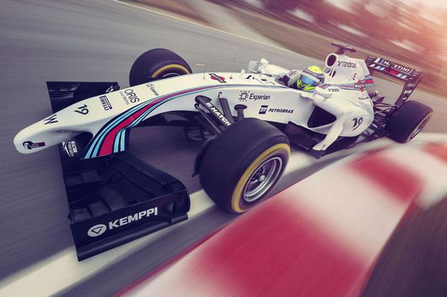 伝統のデザインが復活! マルティーニがウィリアムズのスポンサーとしてF1に復帰