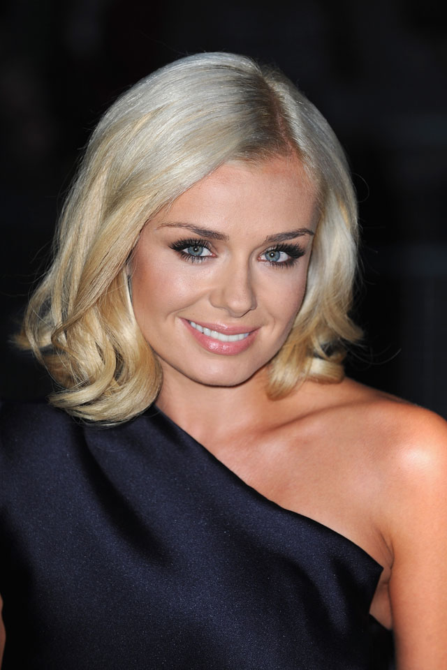 LONDON, ENGLAND - OCTOBER 07: Katherine Jenkins attends the Pride of Britain awards at Grosvenor House, on October 7, 2013 in London, England.  (Photo by Ferdaus Shamim/WireImage)
