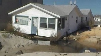 sandy damaged home ortley beach nj