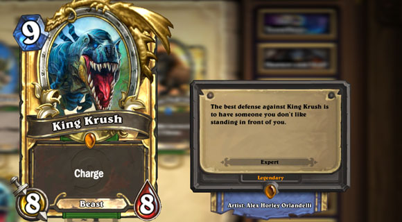 Hearthstone: Rating the legendary cards