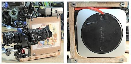 Prototype Black Betty Digital Cinema Camera