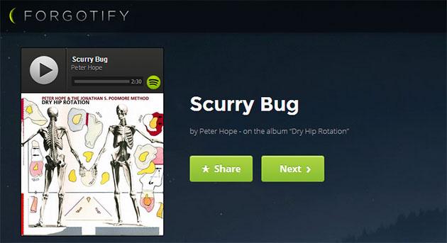 Forgotify 讓你聽聽那些在 Spotify 上還沒被播放過的歌曲