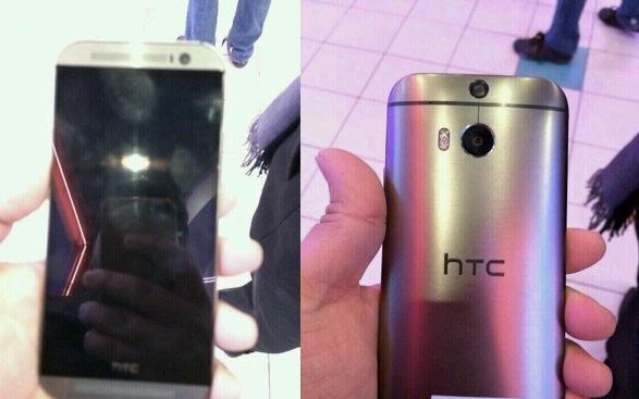 更多 HTC M8 谍照流出,这次给你看土豪金