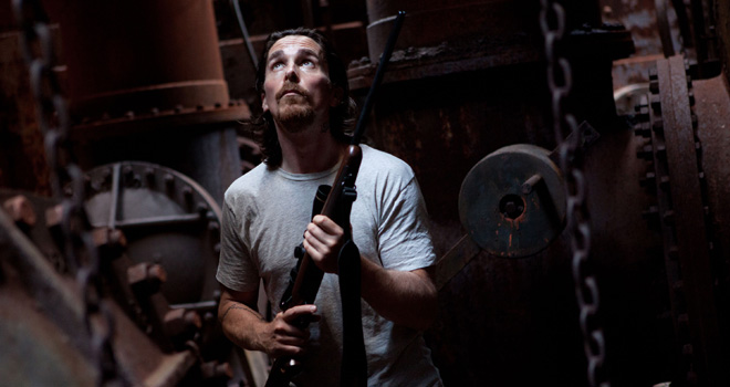 Christian Bale in 'Out of the Furnace'