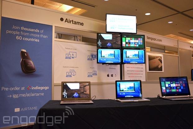 Airtame 拇指無線接收器:可鏡射電腦畫面至「多個」HDMI 顯示器