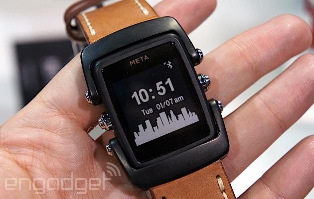 來看看 Meta 的新一代智慧型手錶吧