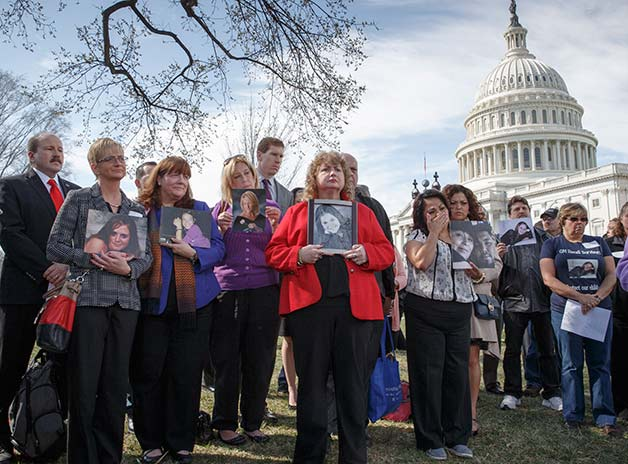 Families of GM ignition victims gather at Capital Hill