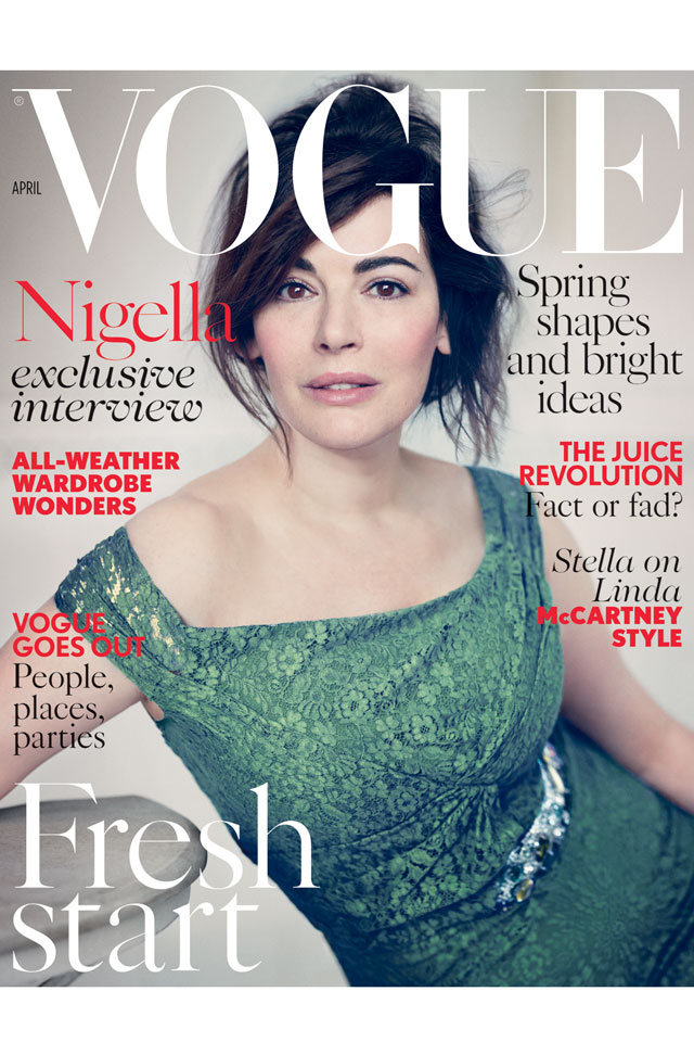 Nigella Lawson Vogue Cover
