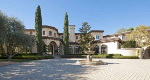 Barry Bonds LA home