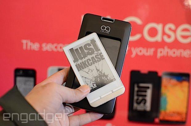 OAXIS InkCase LIte 中文动手玩,可搭配不同手机的 E-ink 屏幕(视频)