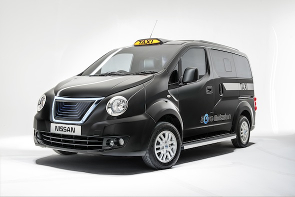 Nissan NV200 London Taxi concept. PR handout.  Photograph: James Lipman // jameslipman.com