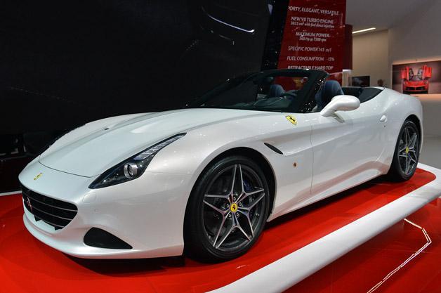 【ジュネーブ2014】V8ターボを搭載したフェラーリ「カリフォルニアT」(ビデオ付)
