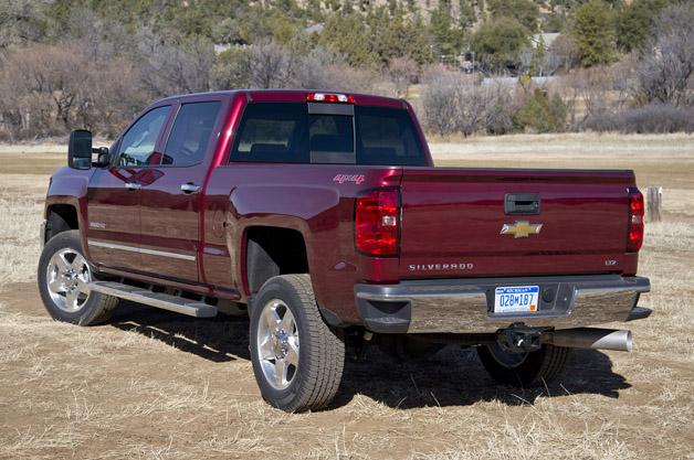 2015 Chevrolet Silverado 2500 Hd Autoblog