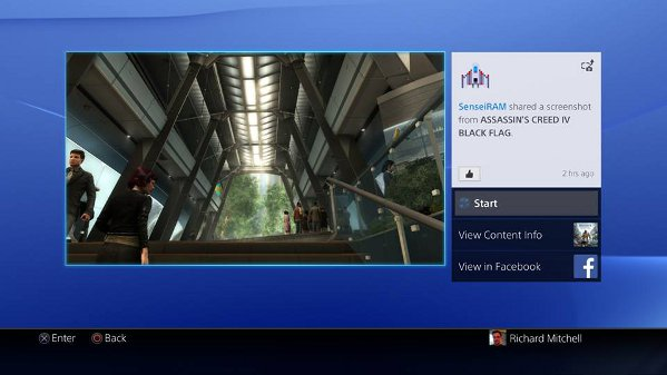 how to connect playstation account to facebook ps3