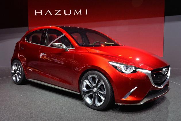 【ジュネーブ2014】マツダ、次期型「デミオ」を示唆するコンセプトカー「跳(HAZUMI)」を発表!