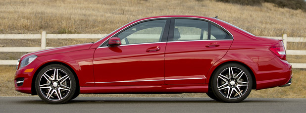 2013 Mercedes Benz C250 Sport Side View ...