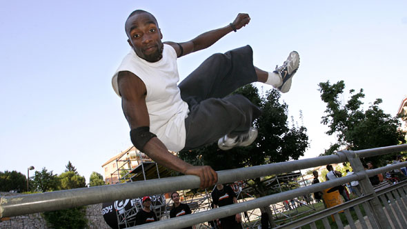 Parkour for fitness