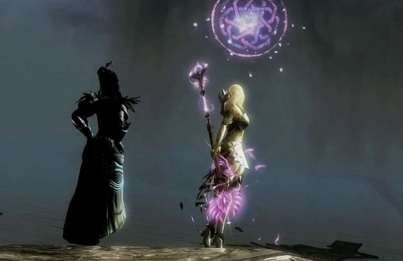 Marjory and Kasmeer, Tower of Nightmares cutscene