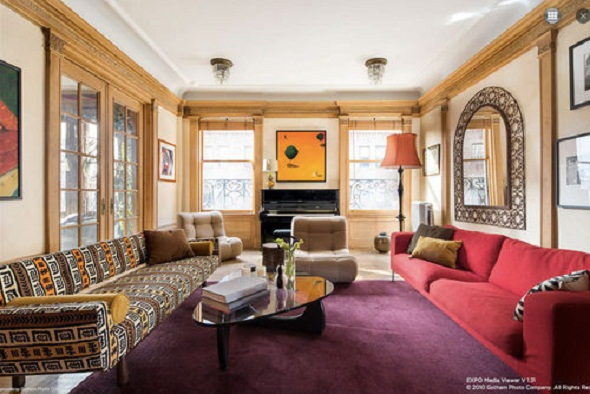 holly hunter living room nyc