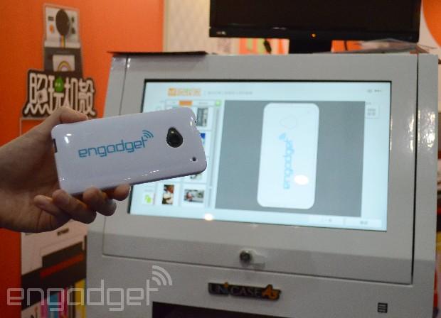 UNi Case 即場打印個人化手機殼機器香港動手玩(影片)