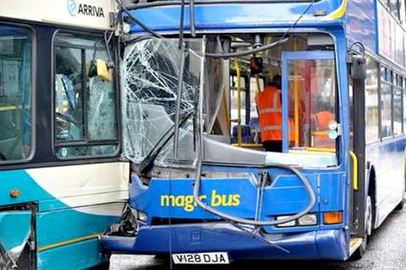 five-buses-crash-manchester-city-centre