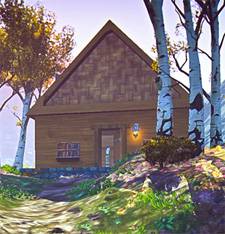 Simple house in EQN Landmark