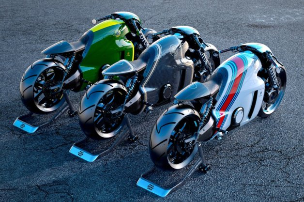 ロータスのスーパーバイク、「C-01」の全容があらわに!