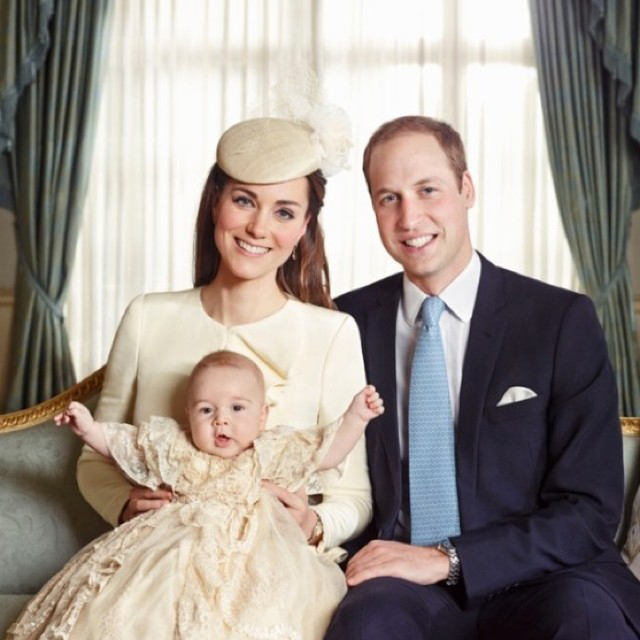 Kate Middleton Prince George Prince William