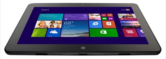 Windows 8 tablet screenshot