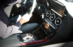 Mercedes GLK spy shots