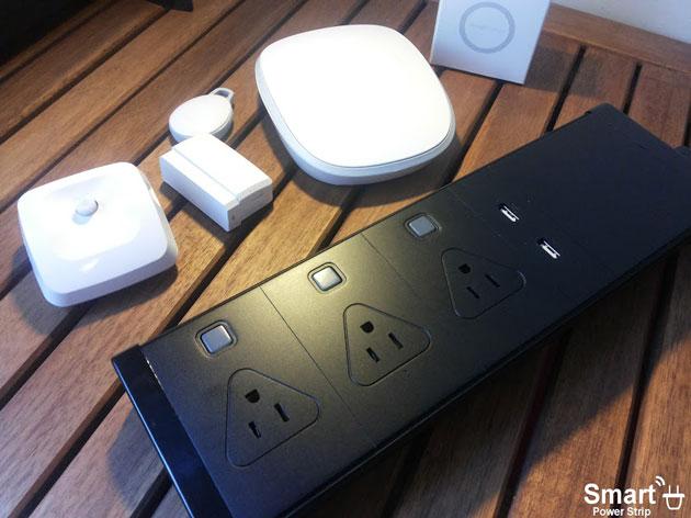 Smart Power Strip 和 SmartThings Wi-Fi Hub 合作,可無線控制家中電器