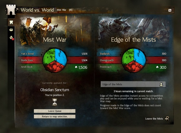 Edge of the Mists WvW UI